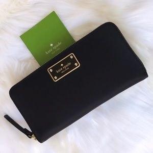 💃Kate Spade Blake Avenue Neda Zip Around Wallet